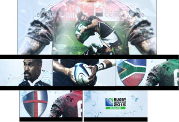Universal Sports - Rugby Mood Board